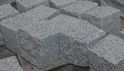 New Granite Setts – Cubes