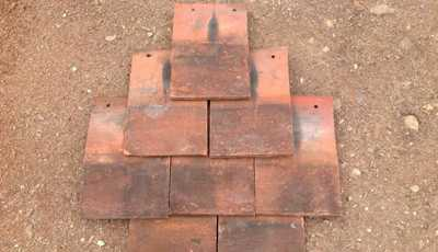 Machine Salvaged Roof Tiles