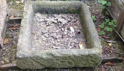 Victorian Stone Troughs