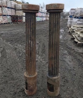 Ornate Cast Iron Bollards